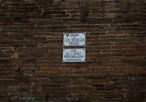 Quai de l'exil républicain espagnol, Toulouse (Francia)