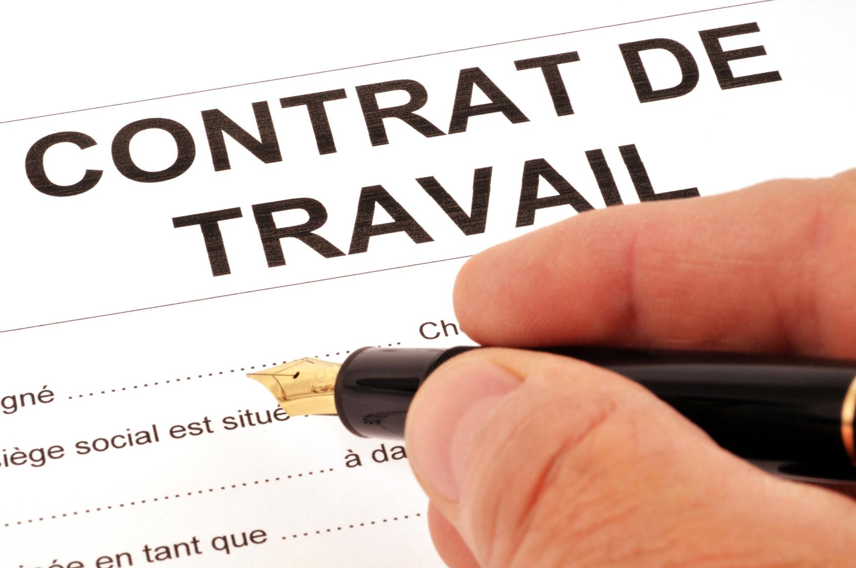 El contrato de trabajo oficina precaria paris for Que oficina de empleo me corresponde