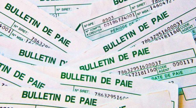 """NÓMINA (""""Bulletin/ feuille/fiche de paie"""")"""
