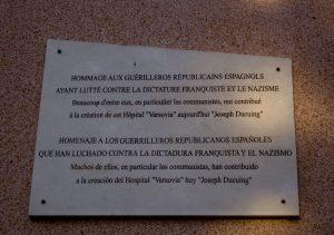 Hospital Varsovia, hoy en día Joseph Ducuing, situado en el barrio de Saint Cyprien en Toulouse (Francia)
